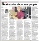 Short stories about real people in Wanganui Midweek PNG